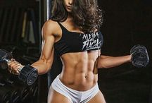 Girl abs