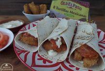 Mexican food -- Fajitas, tacos, quesadillas, sincronizadas,,,