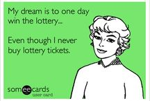 If I won the lottery...