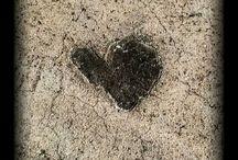 random hearts / seeing hearts in random ways