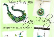 Lyn Foley: Now showing........... Glass Jewelry / Lyn Foley participates in art shows, festivals and gallery events.