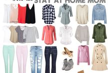 MOM WARDROBE / build up a wardrobe for a stay at home mom