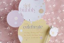 Cute, colourful and bubbly bday party