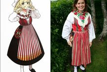Swedish Traditional Costume (Delarna)