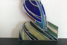 Mijn projectjes / Schilderijen, tekenwerk, Tiffany, boetseersels...