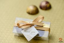 Wedding Favours / Chocolate is a perfect gift for your wedding! Give your guests something they will enjoy