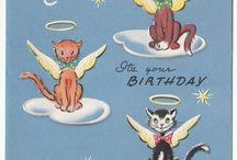 vintage birthdaycards