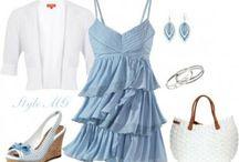I love dresses - blue