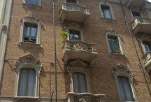 Turin balconies