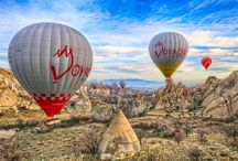 Cappadocia Love Valley / Its one of the most interesting valley of Cappadocia. It looks great with our balloons:)