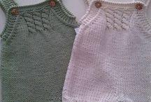 Denenecek bebek giysileri