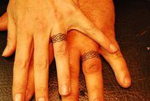 wedding ring tatoos / by Jolene McEwen