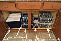Storage ideas / by Melanie Paton