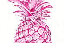 I See Pineapples / tendenza ananas