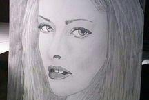 Drawing for me  / Zeichnungen Skizzen, von mir gezeichnet.  Wünsche können gerne abgegeben werden,was oder wenn ich Zeichnen soll