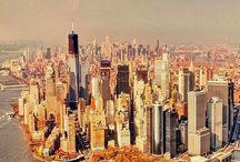 New York. / Manhattan, New York city.