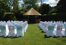 Manor House Hotel, Moreton in Marsh / Wedding and event chair covers