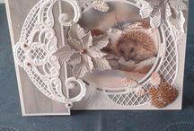 Kaart met bowl van marianne