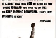 boxing quotes. positive sayings