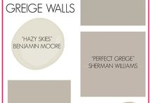 Paint colors - grey/beiges