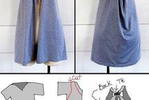 Diy ruhák