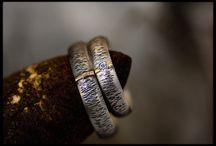 Amazing wedding rings <3