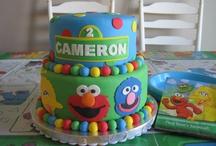 Elmo bday party