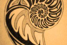 Tattoo planning / Shells and mermaids