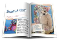 Bear Artists Profiles / These artists have been profiled in the pages of Bear Beautiful magazine. Enjoy meeting the bears, and the artist behind them. A questions and answers style interview so you can feel like friends after reading each one.