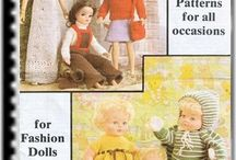 Doll Clothes Patterns 543