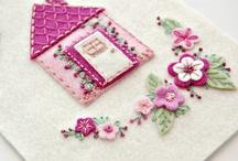 ♥Casinhas♥ / Casinhas de feltro e tecido