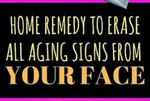 face aging tips