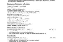 High school Resume