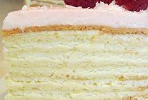торты и пирожное