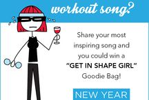 New Year! New You! / Fitness tips!