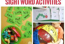 site word activities