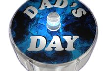 Fathers Day Party Dot Designs