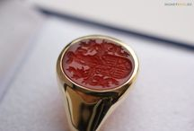 Signet Ring / Collection of remarkable signet ring jewelery on the web.