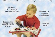 Cloth activity book