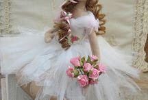 Bonecas bailarinas