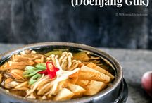Korean Food Recipes / Traditional and fusion food recipes inspired by Korean cuisine. | Main Dishes | Side Dishes | Soups | Rice | Kimchi | Spicy