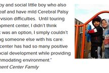 Families Share Their Stories / We recently took a few moments to ask parents to share with us the impact Easter Seals Washington has made for their families.