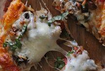 pizza n ground turkey
