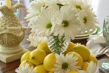 Διακόσμηση λουλουδια σε βάζα