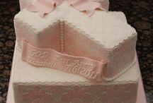 Birthday christening cake ideas