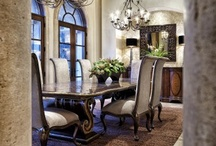 "Dining Room Remodel Inspirations / I've read many times that to find your true decorating style, you need to put together "" a notebook"" of sorts of all of your favorite room decor until you see a pattern emerge."