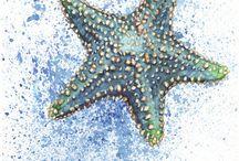Art- Watercolor Sea