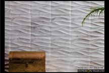 Luxury Hand Carved Natural Stone Tiles / Our range of beautiful hand carved natural stone tiles.