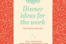 Meal Planning + Vegan Recipes