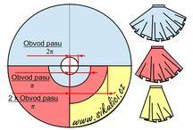 Strih kruhová sukňa